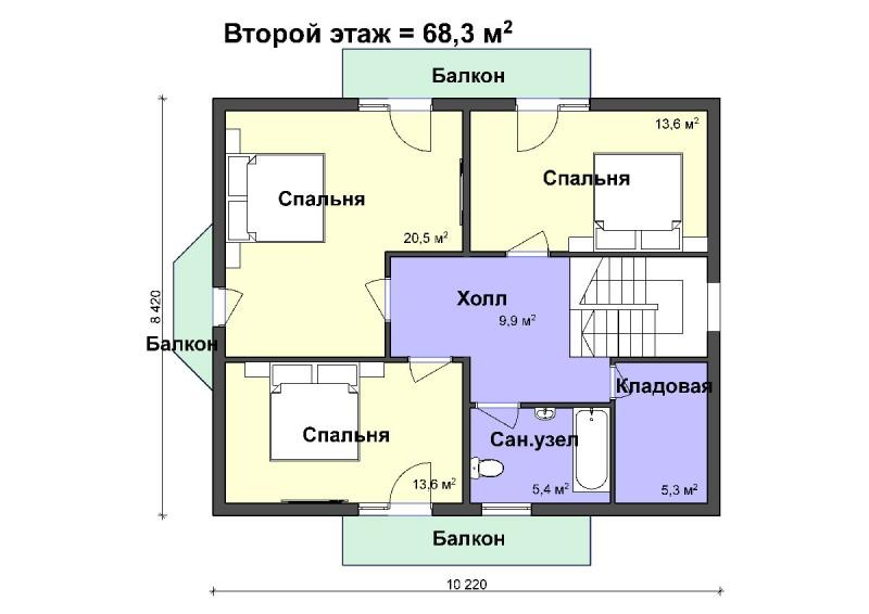 K-36 компактный дом