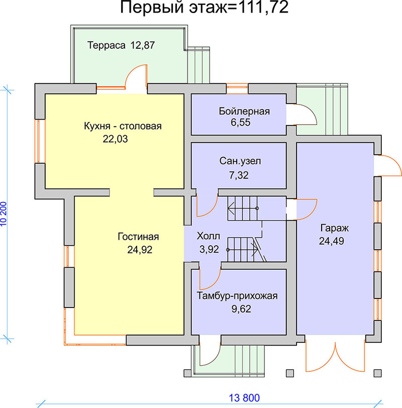 K-42 компактный дом