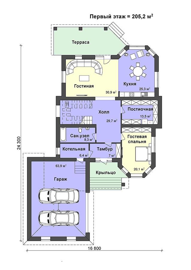 K-58 элитный дом