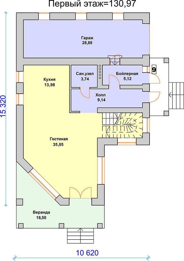 K-63 комфортный дом